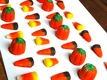 Toddler Approved autumn candy sequencing