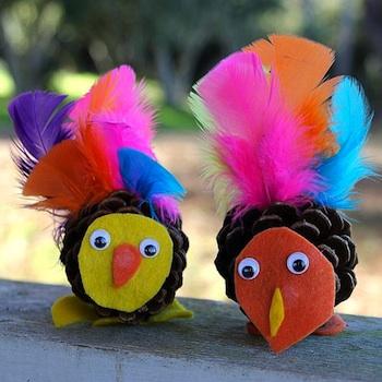 Turkey Suncatcher Craft For Preschool