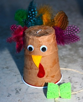 turkey noisemaker craft