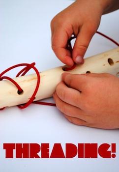 Mini-eco threading stick