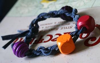 Scraps of Starlight leather crafts bracelets