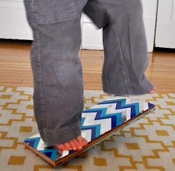 Elsie Marley balance board
