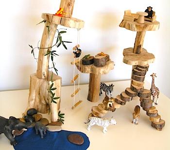 Childhood 101 diy mini treehouse