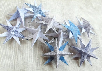 Maya*Made security envelope stars