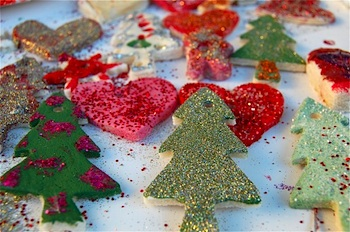 Tinker Lab salt dough ornaments