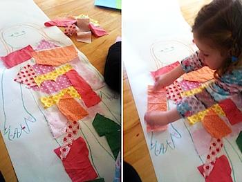 Childhood 101 body outline art
