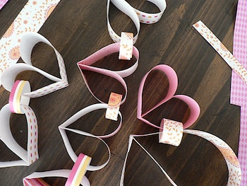 Bless This Mess heart paper chain