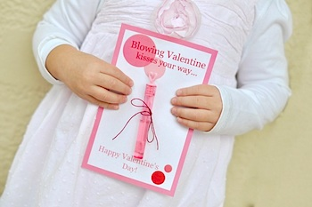 The Mother Huddle valentine card blowing bubbles free printable