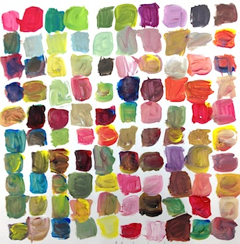 Teach Kids Art mixing 100 colors