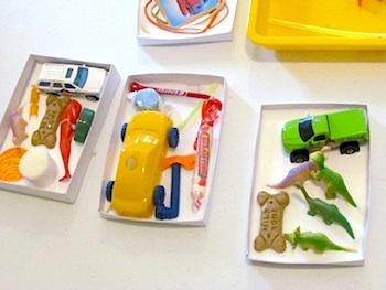 Teach Preschool math glue boxes