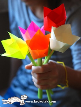 Spring flowers things to make and do crafts and activities for krokotak flowers mightylinksfo