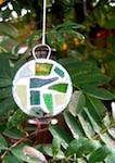 Mini plastic lid mosaic craft