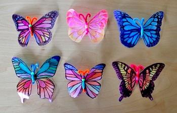 Alphamom milk jug butterflies