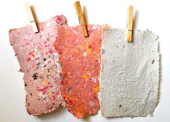 Whip Up papermaking tutorial