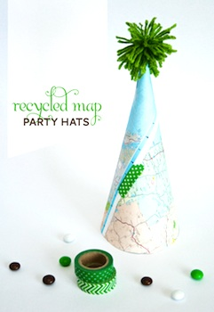 One Charming Party earth day party hat