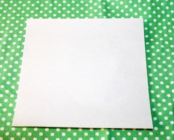 Alphabet Glue paper pots tutorial 1