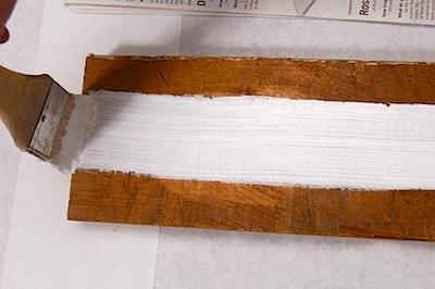 ALFK fingertip painting on wood 2