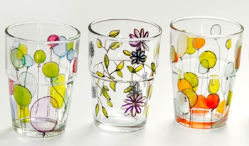 Etsy Blog painting on glass