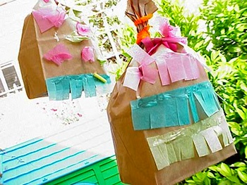 Scrumdilly Do easy pinata for kids