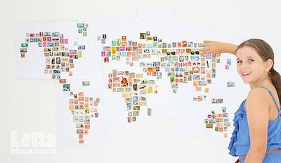 Lotta stamp map