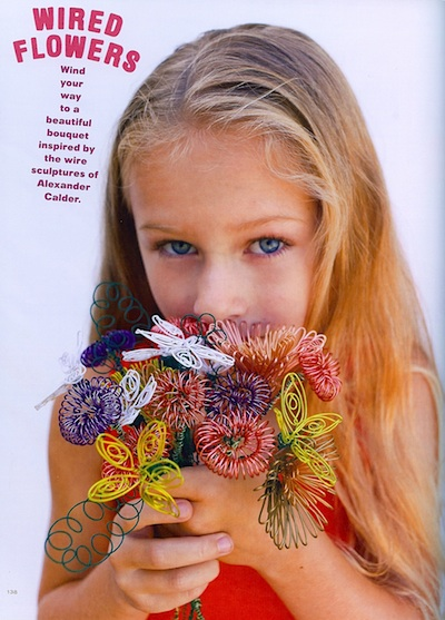 Kid Made Modern wired flowers 1