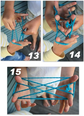 Blue Corduroy how to play cats cradle