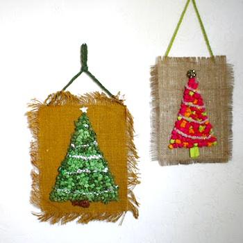 Scrumdilly Do tissue tree ornament