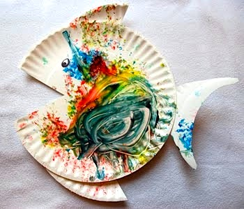 Paper Plate Fish - Things to Make and Do Crafts and Activities for Kids - The Crafty Crow & Paper Plate Fish - Things to Make and Do Crafts and Activities ...