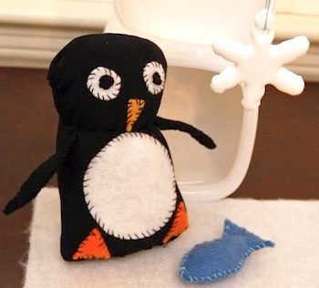 Frugal Family Fun penguin playset