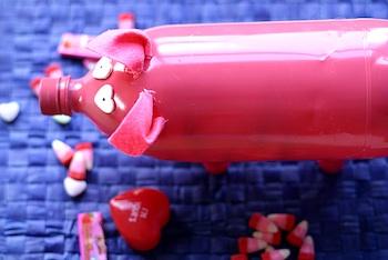 Cheeky Kitchen pig valentine box