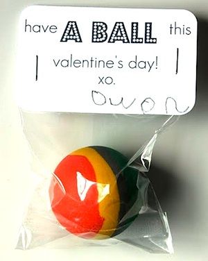 Dandee have a ball valentine