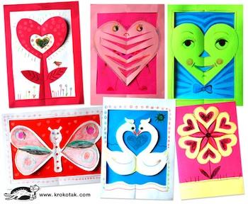 Krokotak valentine papercuts