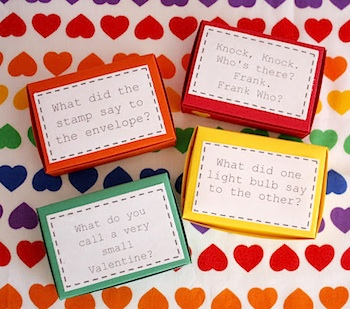 Delia Creates funny joke valentine