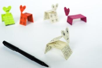 Made By Joel valentine animal card printables