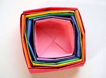 how to make origami boxes things to make and do crafts and