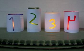 Pysselbolaget jar lanterns