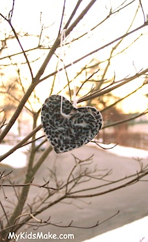 Feeding wild birds in winter things to make and do crafts and my kids make bird seed ornament solutioingenieria Image collections
