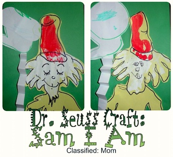 Classified Mom dr. seuss kids craft