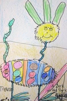 Teach Kids Art dr. seuss art lesson