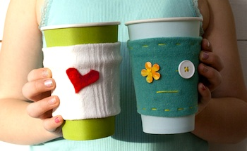 Pysselbolaget easy cup cozies