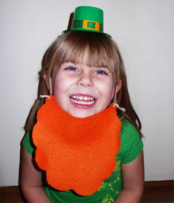 We Made That felt leprechaun beard