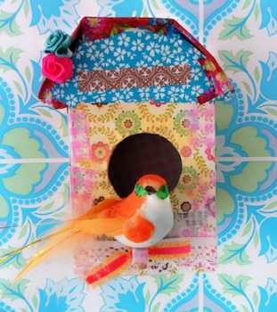 Cardboard Box Bird House Tutorial Things To Make And Do Crafts