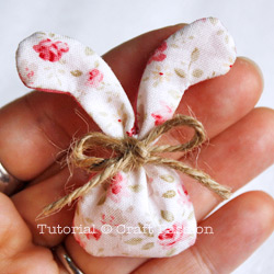 CraftPassion mini bunny sachet