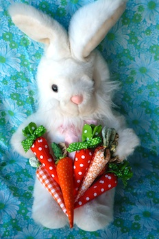 Clare's Craftroom fabric carrots