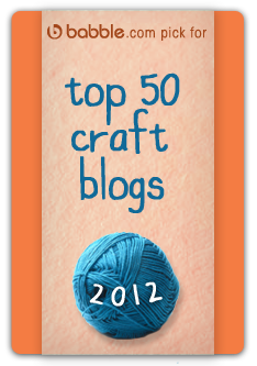 Babble top 50 craft blogs 2012