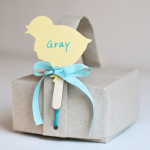Willowday easter shadow puppet origami gift box
