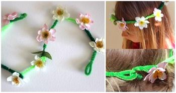 Alphamom easter daisy chain