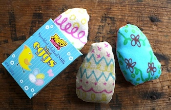 Scrumdilly Do color your own easter egg softies