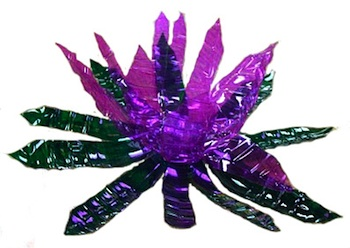 St. Martha Catholic School faux crystals purple