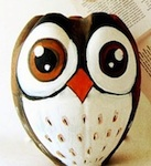 Craftberry Bush plastic bottle owl